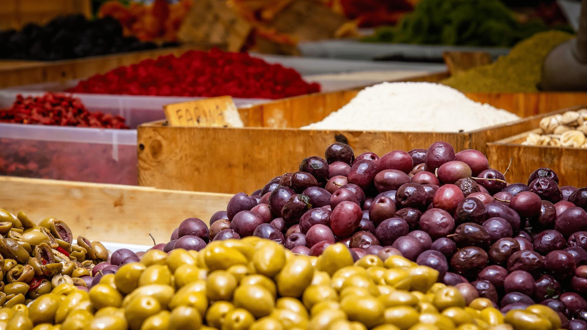 Schwarze oder grüne Oliven - der Unterschied