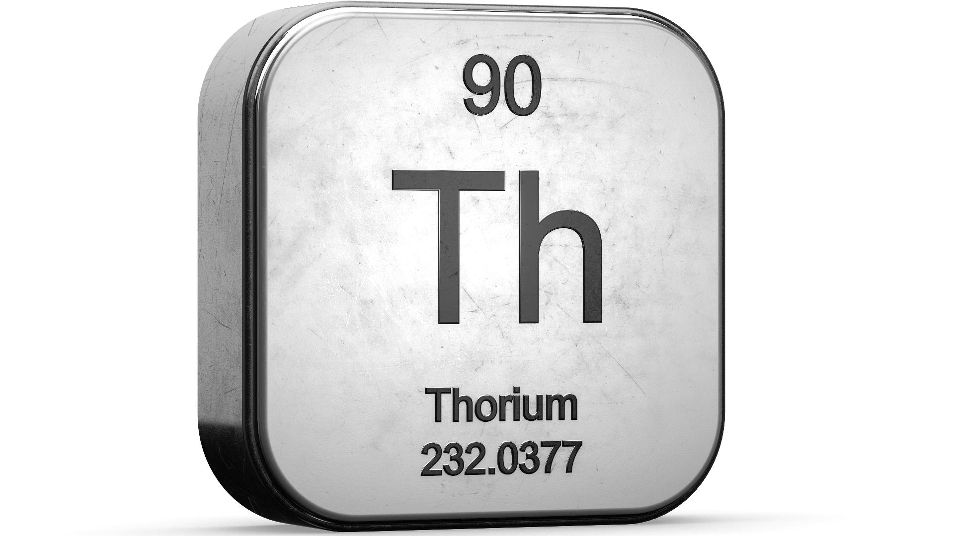 Was ist Thorium - Definition