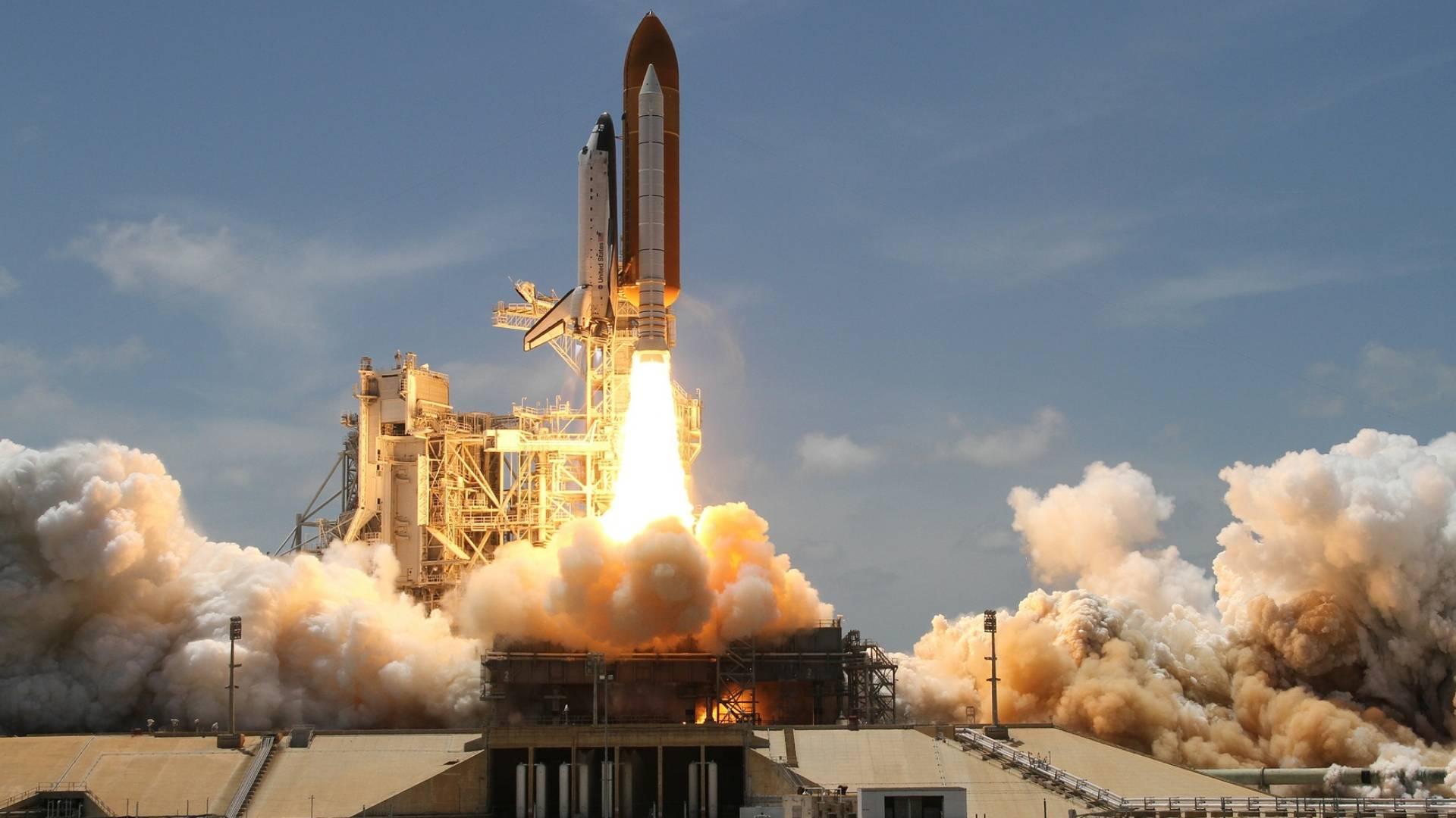 Test der SLS-Triebwerke an der leistungsstärksten Trägerrakete der Welt