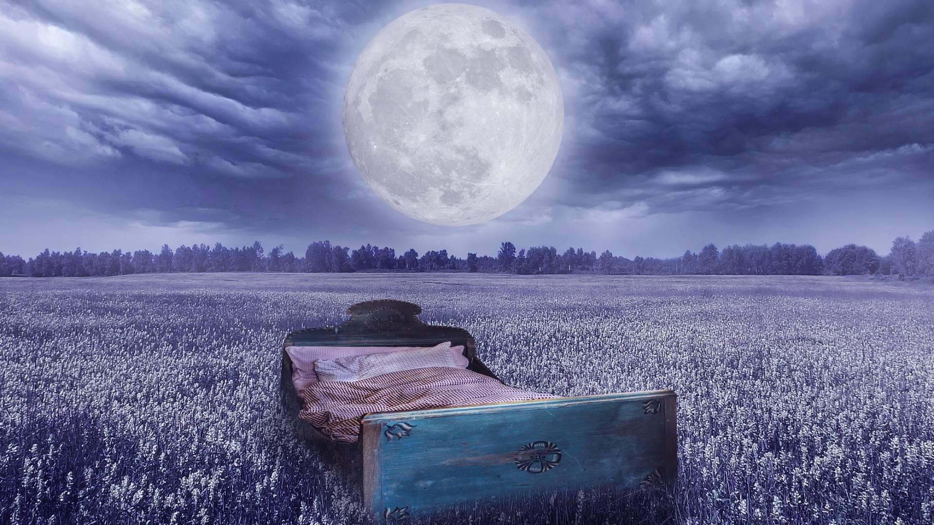 So beeinflusst der Mond unseren Schlaf