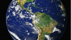 Ozeane machen die Erde zum blauen Planeten
