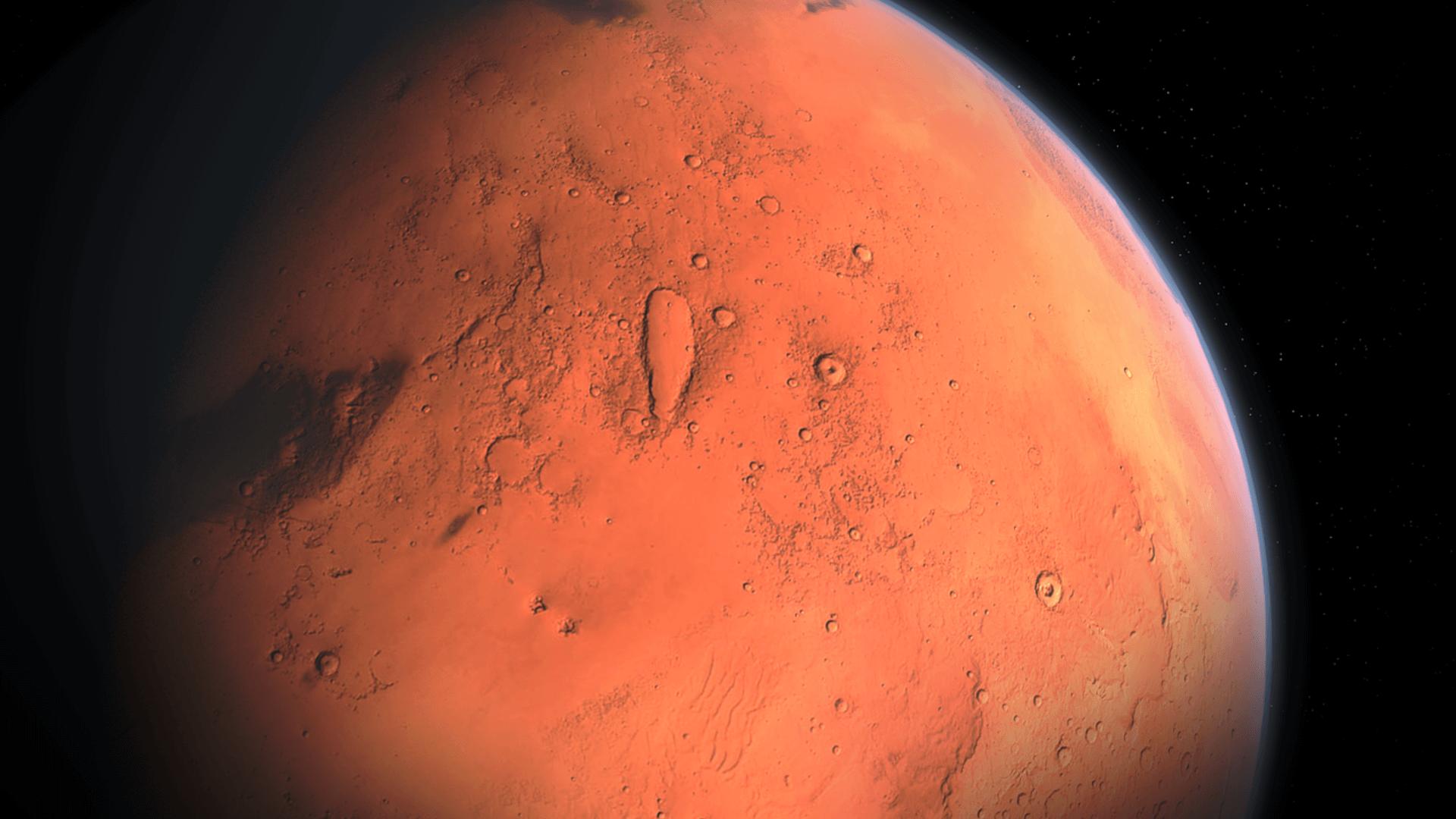 Warum ist der Mars rot?