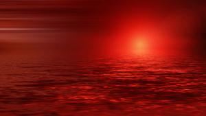 Warum wird die Sonne rot, wenn sie untergeht?