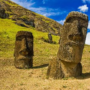 Die ungewisse Herkunft der Osterinsel-Statuen