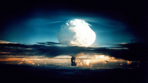 Geburt von der stärkste Atombombe in der Geschichte