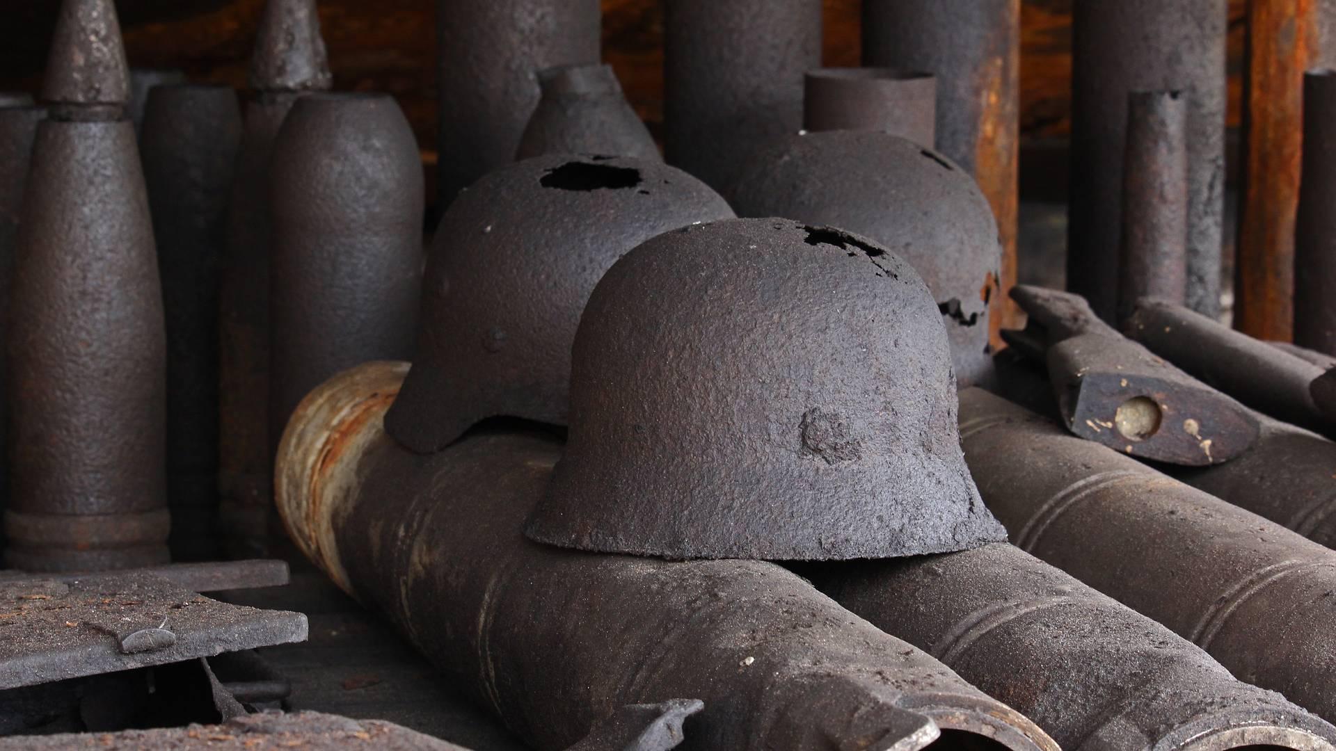 Der Zweite Weltkrieg symbolisiert den totalen Krieg