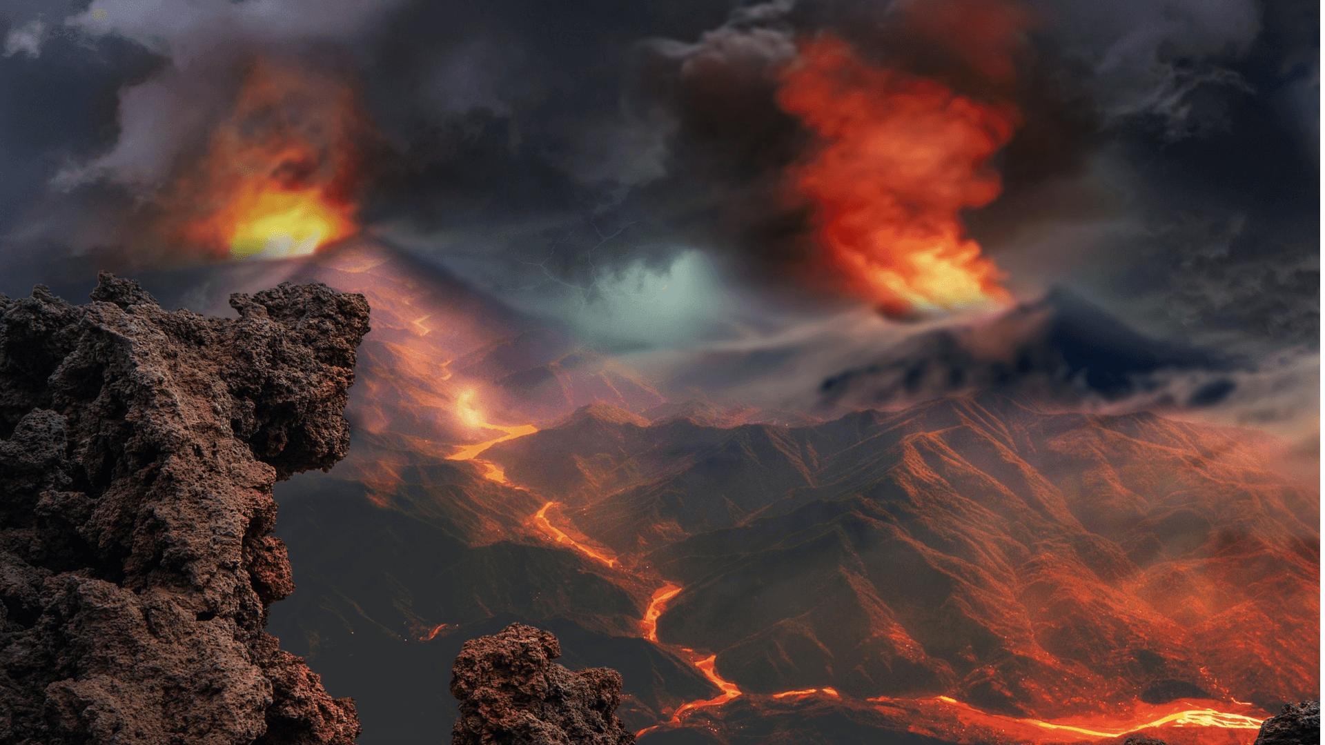 Gibt es noch Aktive Vulkane auf den Mars?