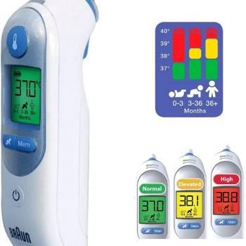 braun irt6520 - Die besten Thermometer 2021 - Thermometer Test & Vergleich