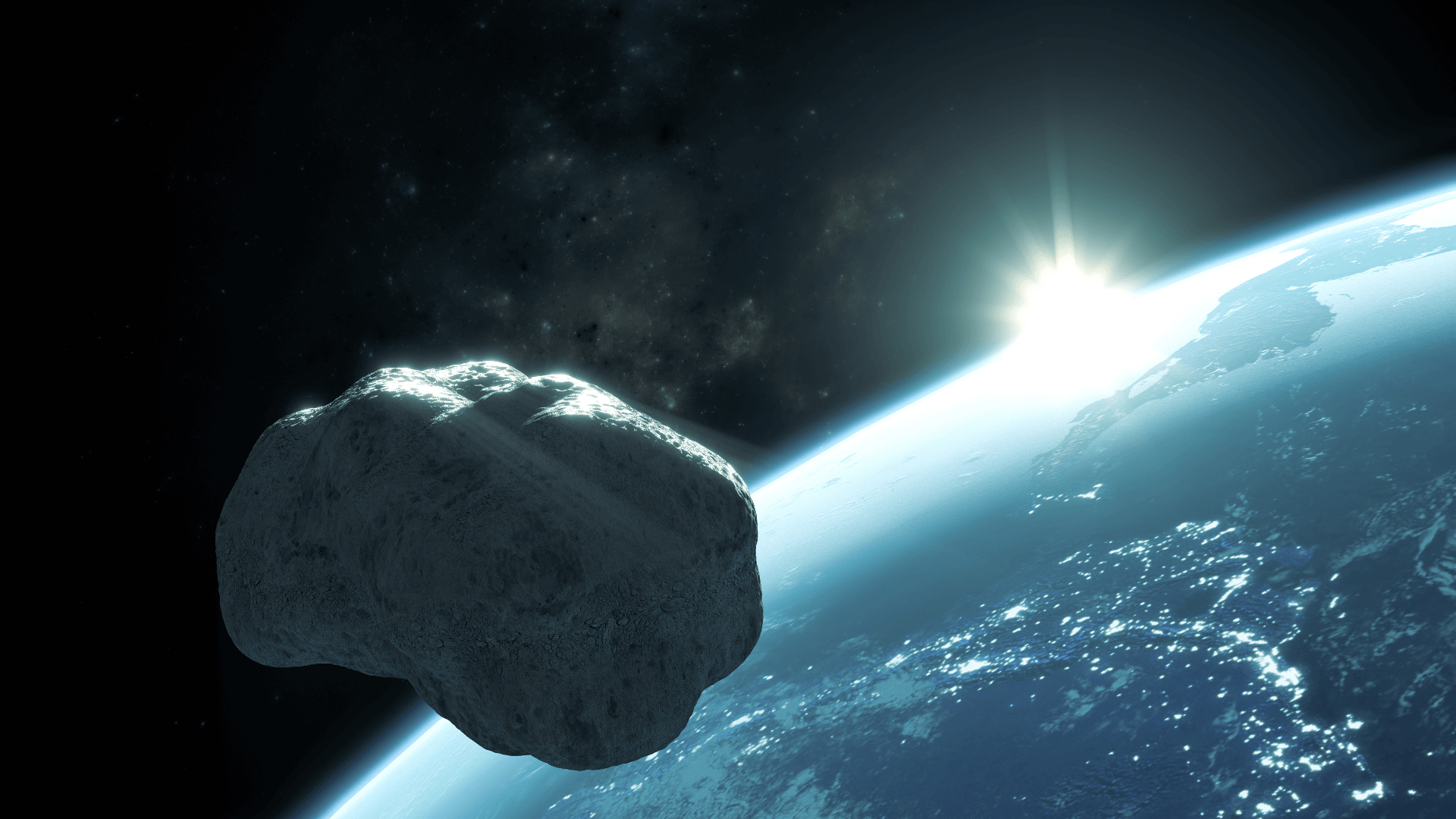 Der 350 Meter große Asteroid Apophis ist für die nächsten 100 Jahre keine Bedrohung