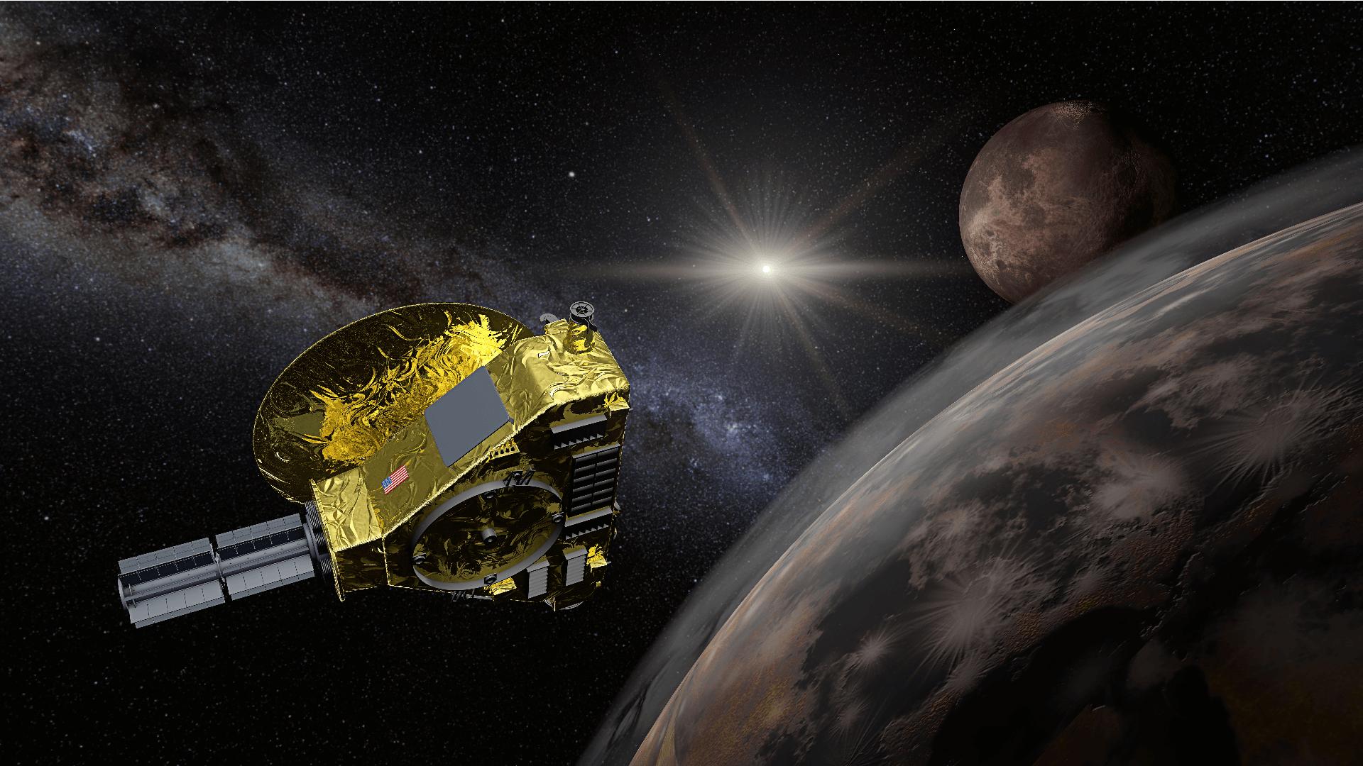 Die NASA Raumsonde New Horizons sieht Sterne ganz anders als wir