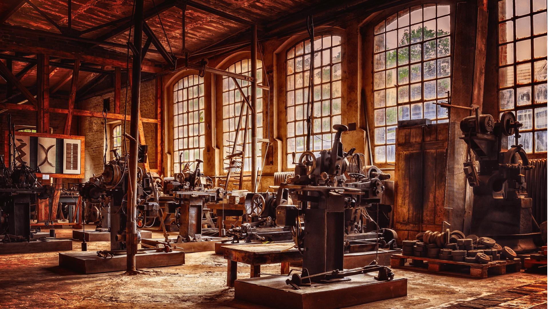 Wann hat die erste industrielle Revolution stattgefunden
