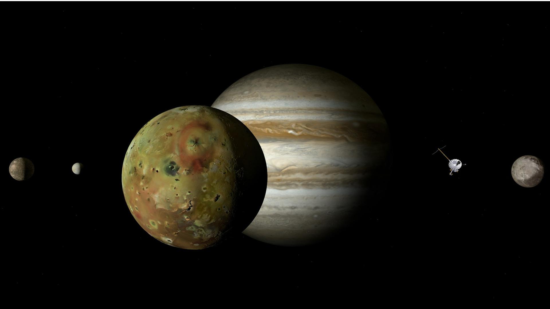 Jupitermond Io: Eine Definition was ihn ausmacht