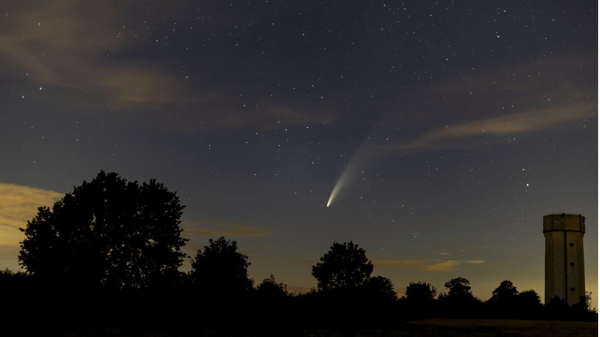 Aktuelles vom Kometen Neowise