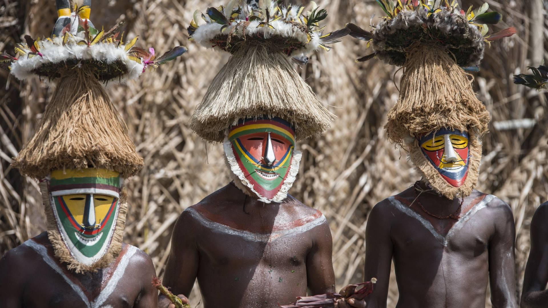 Die Anpassung der Papuas an die Höhe