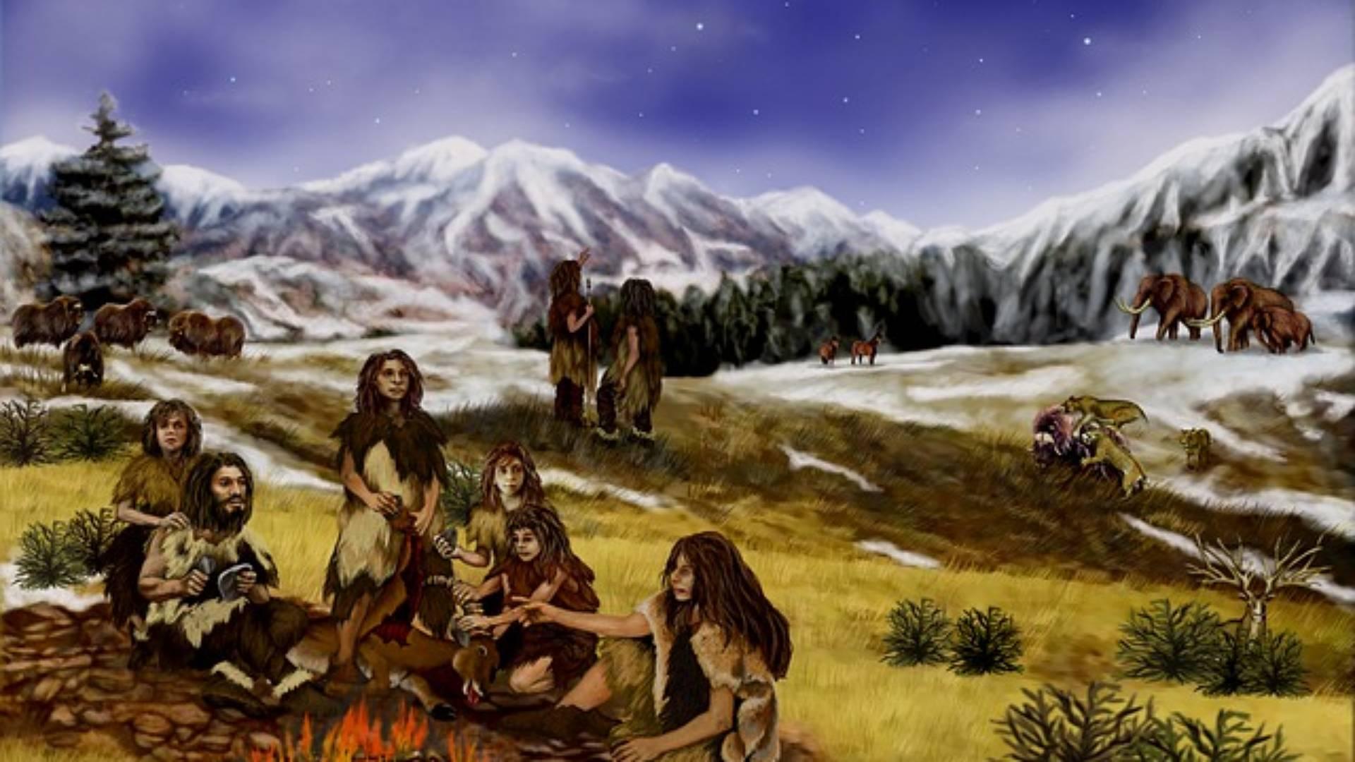 Eingravierter Knochen offenbart symbolisches Verhalten der Neandertaler. Definition!