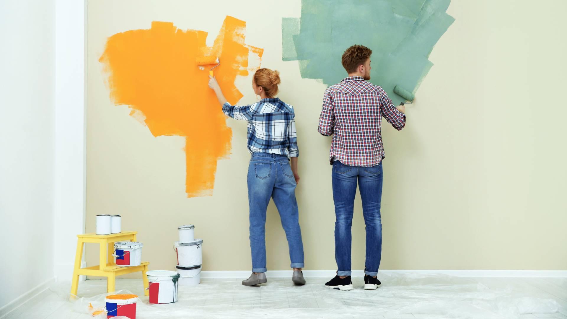 Eine neue Revolutionäre Wandfarbe könnte Klimaanlagen ersetzen