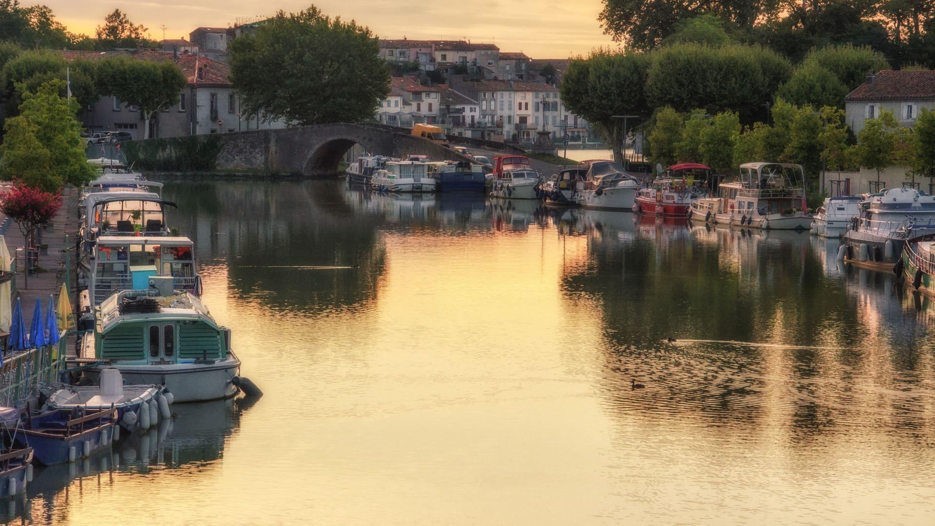Was ist die Geschichte des Canal du Midi?