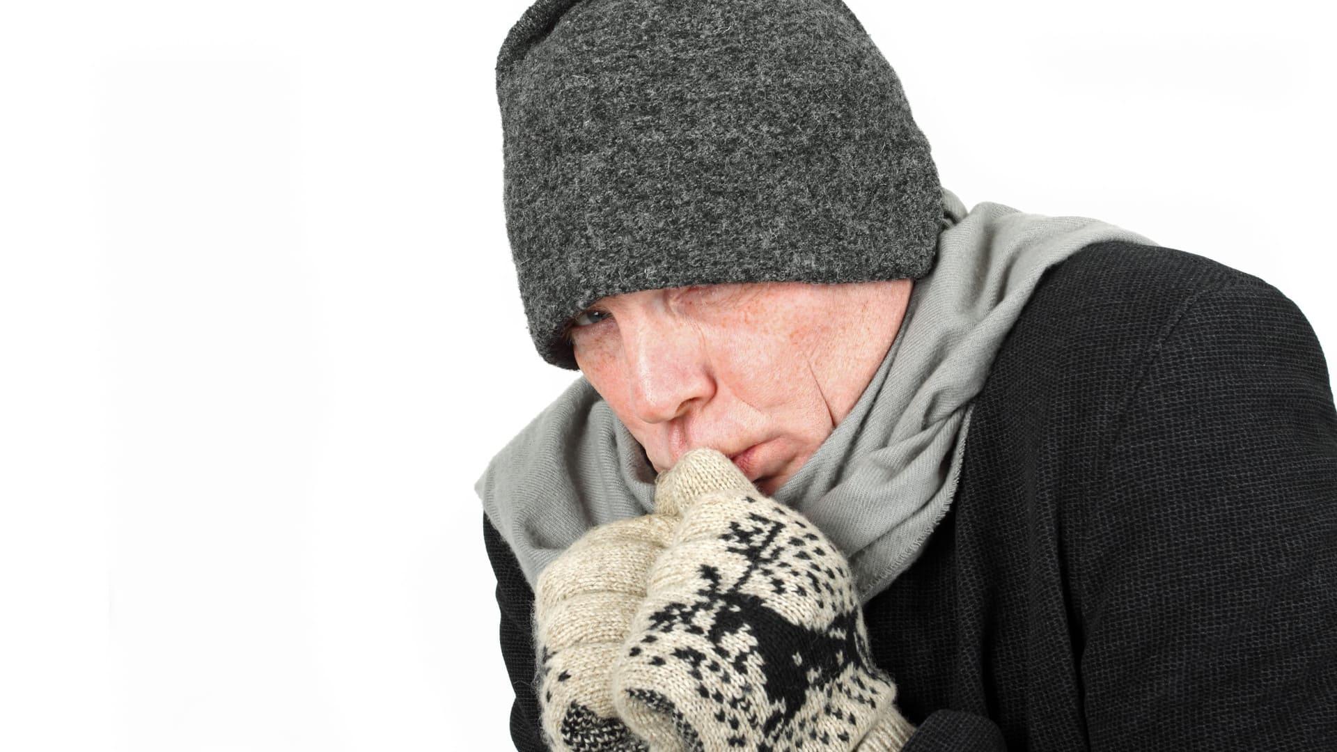 Kann man Verbrennungen durch Kälte bekommen?