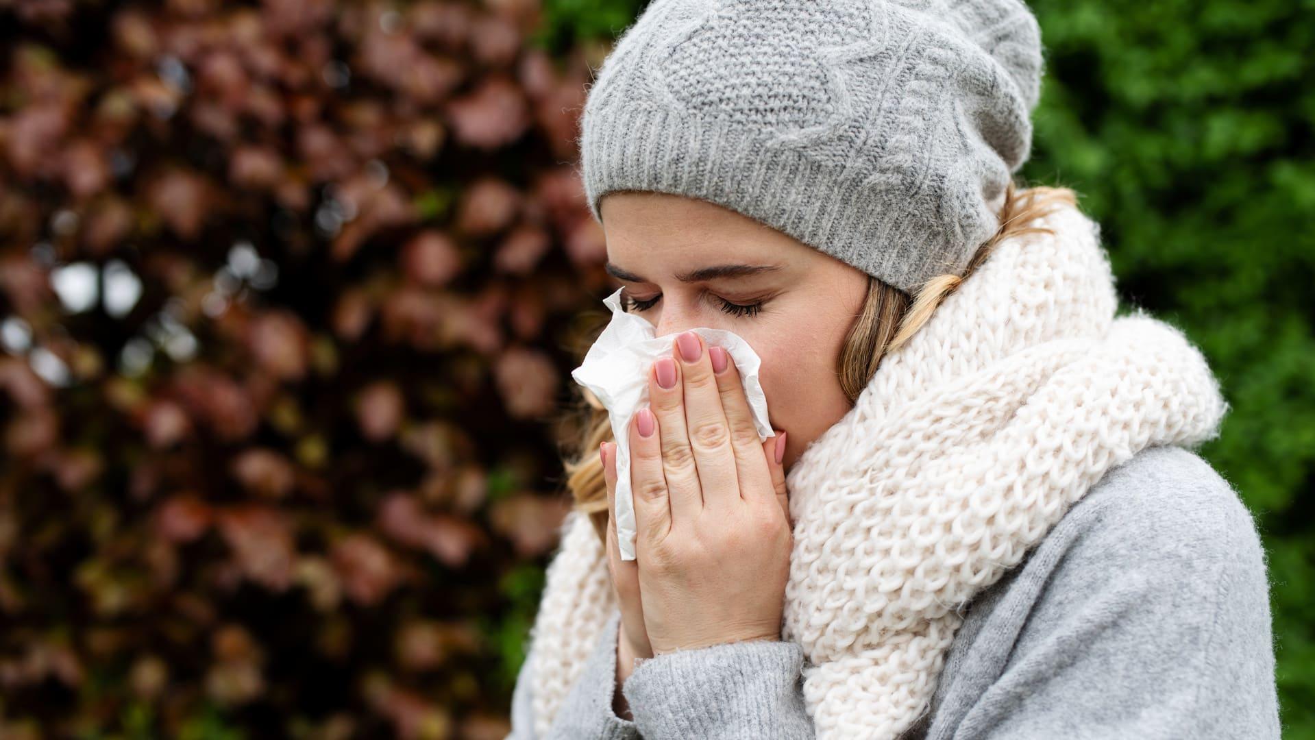 Warum läuft die Nase, wenn es kalt ist?