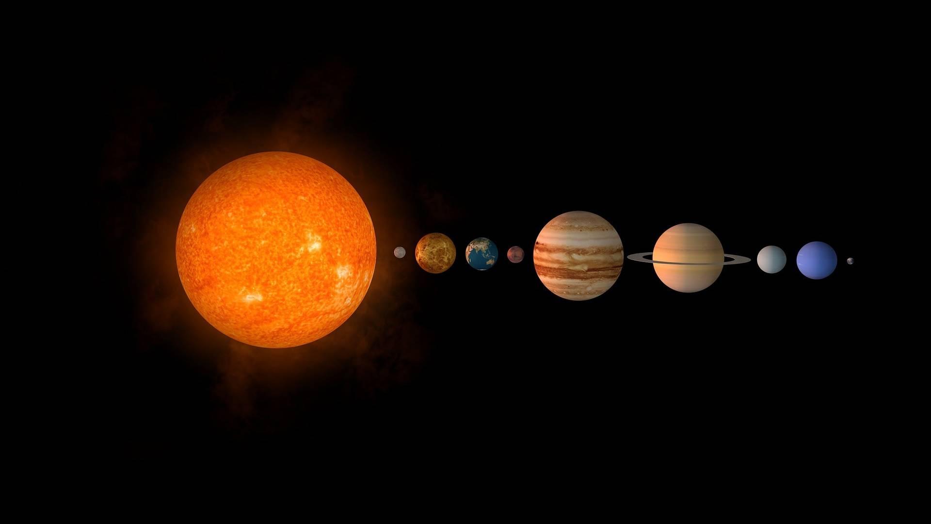 Es gibt einen neunten Planeten im Sonnensystem