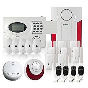 ¿Cuáles son las mayores ventajas de una alarma doméstica en una comparación?