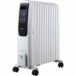 Le puissant radiateur électrique DE'LONGHI DRAGON4 est disponible grandeur nature.