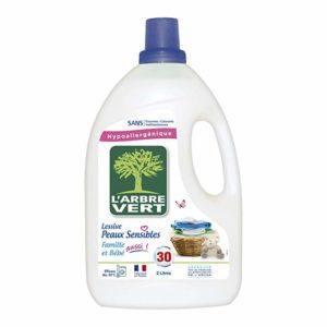 Quel lessive est fait avec savon végétal?