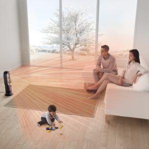 Le ventilateur Dyson AM09 à utiliser en famille