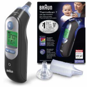 Tout ce qu'il faut savoir sur le Thermomètre Braun Thermoscan