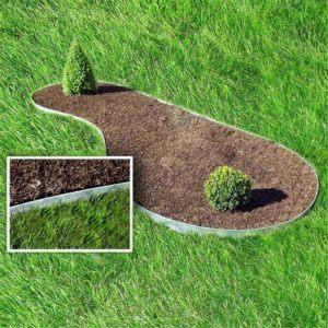 Le test de l'installation pour une meilleure Bordure jardin