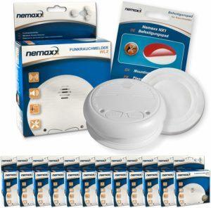 Quelles sont les spécificités du détecteur de fumée Le détecteur de fumée Nemaxx WL2
