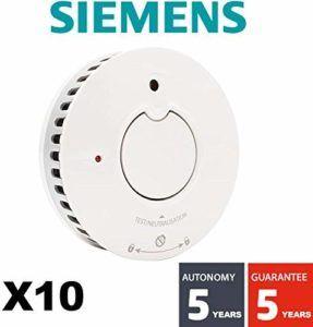 Informations et utilisation du détecteur de fumée Siemens Delta Reflex 5TC1292-1