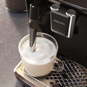 Les options supplémentaires de la machine à café automatique