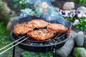 Détails sur le barbecue charbon sur pieds