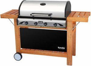 Description du barbecue à gaz et pierre de lave Profy 4 dans un comparatif gagnant