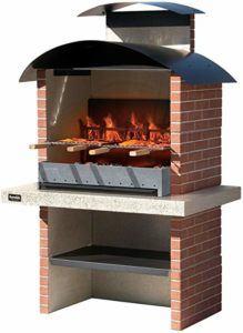 Descriptif d'un barbecue en pierre au charbon de bois dans un comparatif