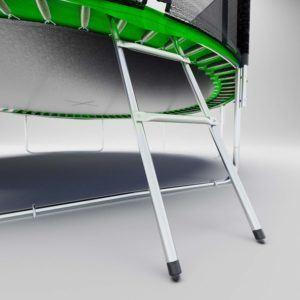 Différents tests d'un trampoline dans ce comparatif