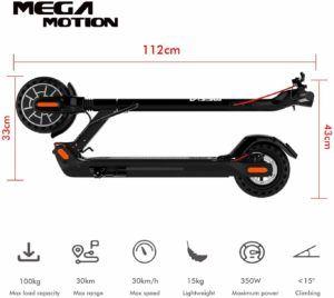 Mega Motion Trottinette électrique