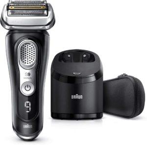 Quelles sont les caractéristiques du rasoir électrique Braun Series 9 ?