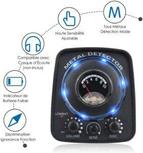 Les meilleures alternatives pour un détecteur de métaux