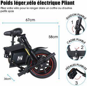 Le vélo tout chemin électrique plus sportif