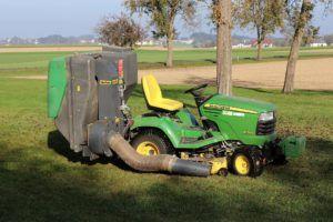 Comment fonctionne un tracteur tondeuse ?