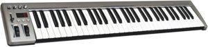 Comment est configuré le clavier du piano numérique ?