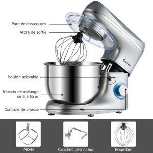 Évaluation du robot pâtissier Kenwood kMix