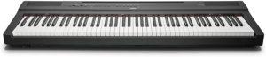 Spécificités du piano numérique Yamaha P125
