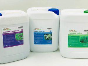 Évaluation de désherbant naturel purin d'orties liquide