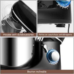 La fiabilité et la solidité de votre robot pâtissier