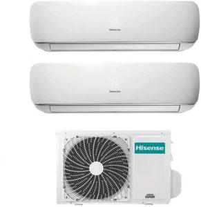 Quels sont les avis sur Hisense Ensemble climatisation réversible Dual Split ?