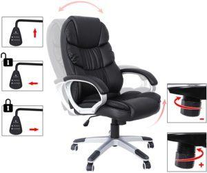 Comment effectuer le test la maniabilité d'une chaise de bureau?