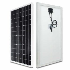 Spécificités du panneau solaire ECO-WORTHY monocristallin de 100 W